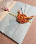 梅結びと折形